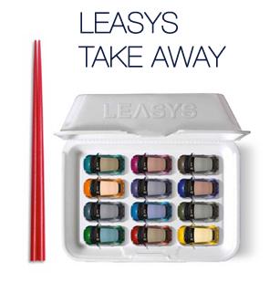 Leasys Take Away - Noleggio lungo termine in pronta consegna