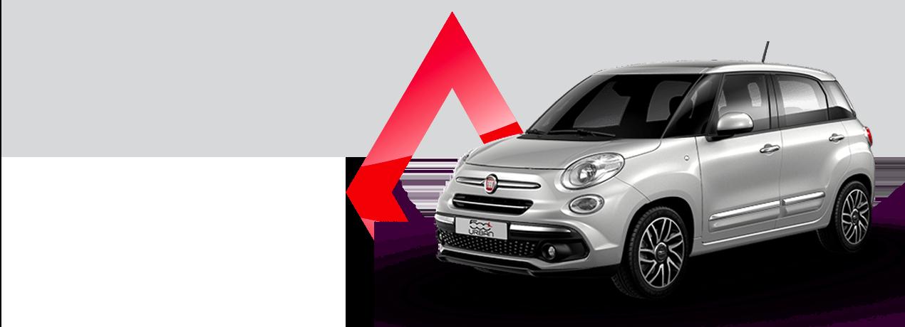 Fiat 500L 1.3 Urban - Noleggio Take Away